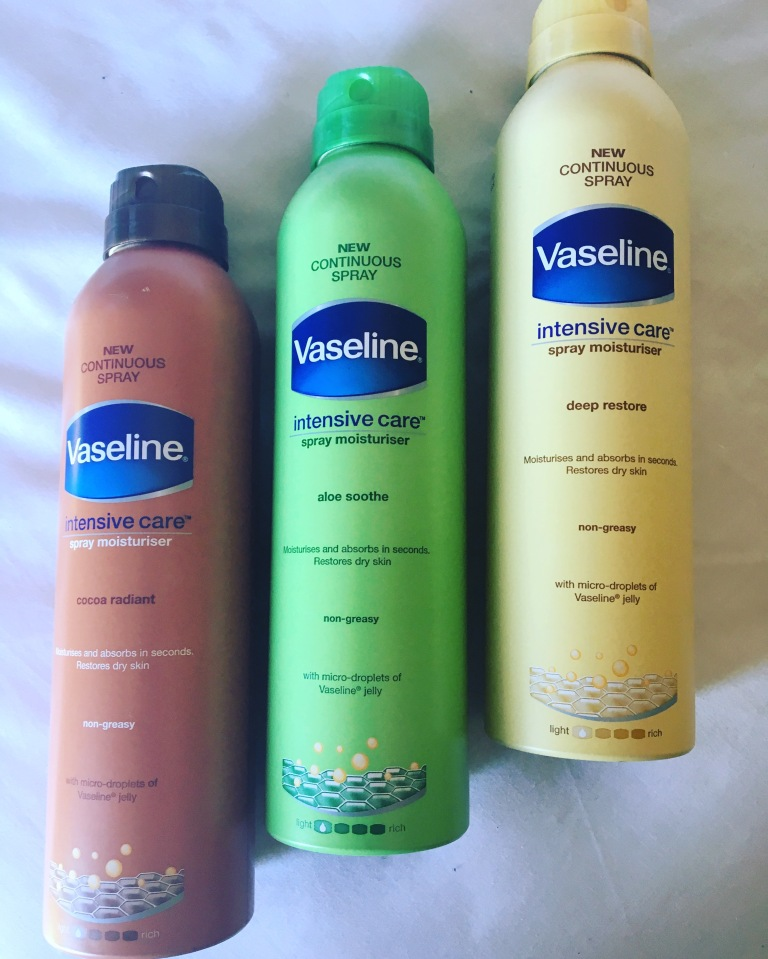 vaseline-sprays